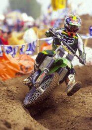 Ricky Carmichael na época de seu 3º título das 125cc em 1999. Foto: Simon Cudby