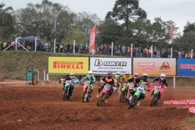 GP 30 anos FENACHIM mostrou garra, força e alternância de líderes no Gaúcho de Motocross