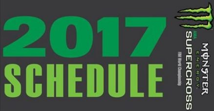 Calendário 2017 do AMA Supercross é anunciado