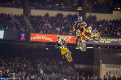 Ryan Dungey #5 e James Stewart #7