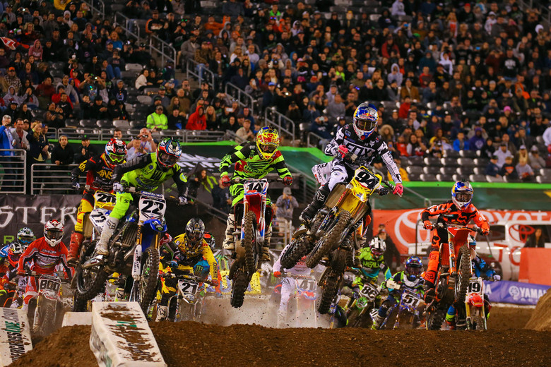 16a etapa do AMA Supercross 2016 em East Rutherford na íntegra