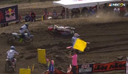 Vídeo Cassetada do AMA Motocross 2016 em Hangtown