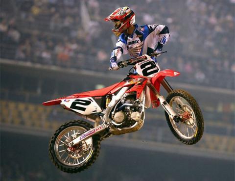 Com 7 títulos no currículo e o título de Rei do Supercross, Jeremy McGrath permanece com o maior número de vitórias na história do campeonato.