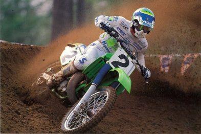 Jeff Ward é um dos poucos pilotos da historia do AMA Motocross a ter títulos em todas as três categorias (500cc, 125cc, 250cc).