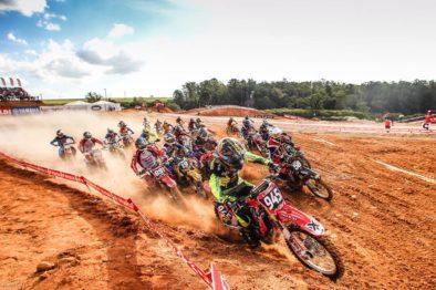 Highlights da 1a etapa do Brasileiro de Motocross Pró 2016