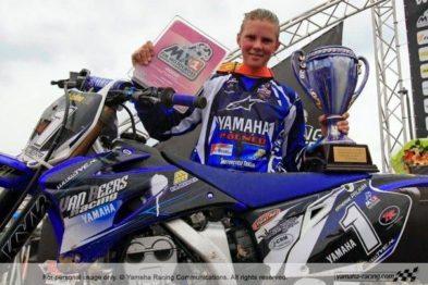 A ex campeã mundial de MX, Katherine Prumm, é uma das aniversariantes do dia 04 de Junho.