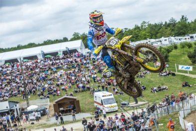 Jeremy Seewer é o atual 2º colocado na MX2