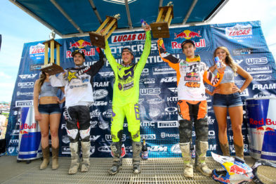 Pódio das 450MX em High Point