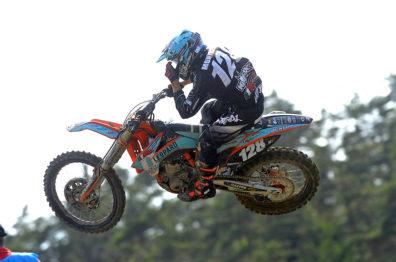 De carona com Ivo Monticelli na 12a etapa do Mundial de Motocross na Itália