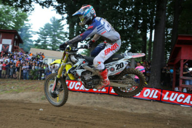 Broc Tickle fora do AMA Motocross 2016