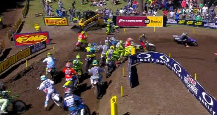 Vídeo Cassetada do AMA Motocross 2016 em Washougal