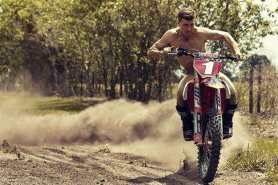Ryan Dungey participa da revista The Body da ESPN para mostrar como o MX transforma o corpo do piloto