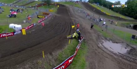 Vídeo Cassetada do AMA Motocross 2016 em Unadilla