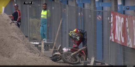 Vídeo Cassetada do Mundial de Motocross 2016 em Assen