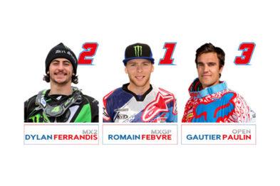 Equipe francesa para o Motocross das Nações 2016 é anunciada