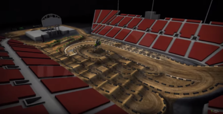 Volta virtual na pista do Monster Cup 2016