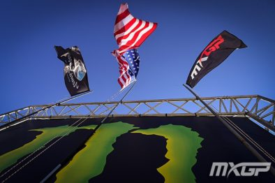 De carona com Mitchell Oldenburg na 18a etapa do Mundial de Motocross