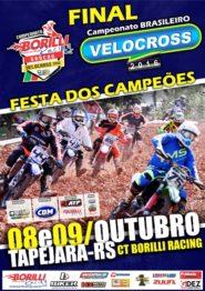 Final do Brasileiro de Velocross será neste fim de semana