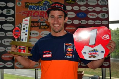 Ian Blythe conquista título do Brasileiro Borilli de Enduro FIM