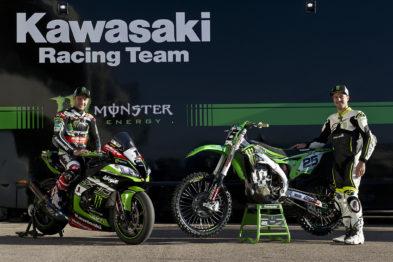 Rider X Over da Kawasaki Racing coloca Clement Desalle e Jonathan Rea frente a frente na Espanha
