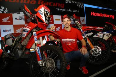 Gregório Caselani acerta os últimos detalhes antes da estreia no Rally Dakar