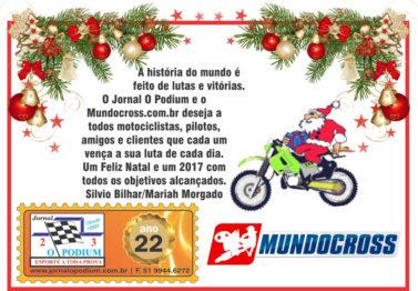 Mundocross e Jornal O Podium felicitam pelo Natal e Ano Novo