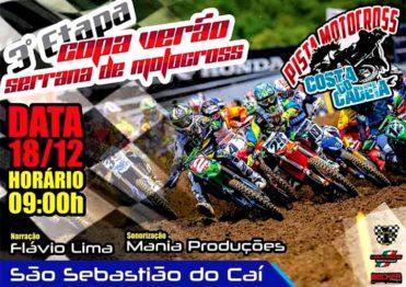 Motocross da Copa Verão (serrana) inaugura a pista de São Sebastião do Caí