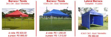 No verão adquira sua tenda ou barraca na Léo Motos