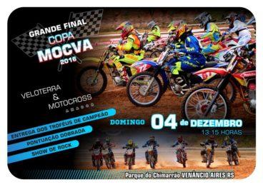 Copa Mocva de Veloterra e Motocross Amador 2016 chega a sua final neste final de semana