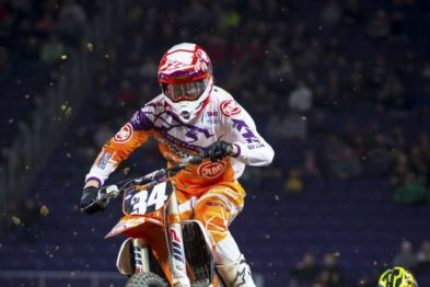 Benny Bloss fora do AMA Supercross 2017