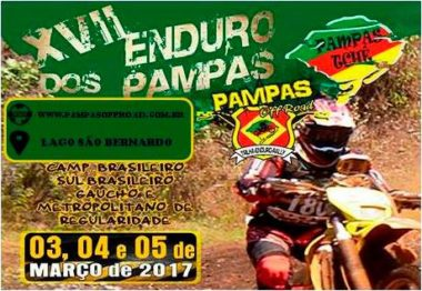 Enduro dos Pampas abre Temporada do Enduro Regularidade