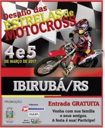 Desafio das estrelas de motocross vai sacudir ibirubá no começo de março