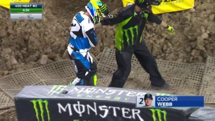 Vídeo Cassetada AMA Supercross em Minneapolis
