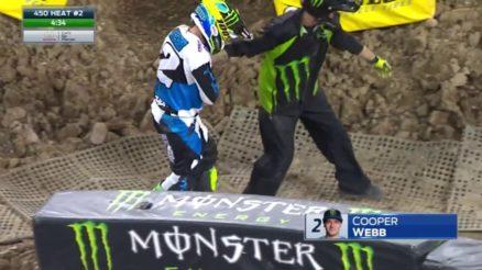 Vídeo Cassetada AMA Supercross em Minneapolis