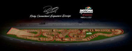 Volta virtual AMA Supercross 2017 em Daytona