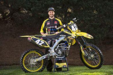 Kyle Cunningham na JGR Suzuki