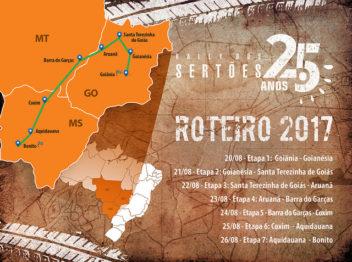 Rally dos Sertões anuncia roteiro com passagem por três estados