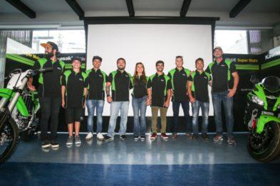 Kawasaki apresenta suas equipes oficiais para a temporada 2017
