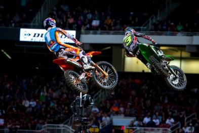 Resultados da 13a etapa do AMA Supercross 2017 em St. Louis