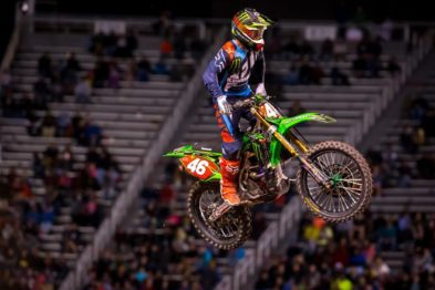 Resultados da 15a etapa do AMA Supercross 2017 em Salt Lake City
