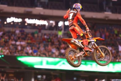 Resultados da 16a etapa do AMA Supercross 2017 em East Rutherford