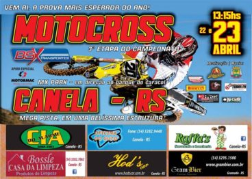 Faltam 2 dias para a inauguração da pista do MX Park em Canela/RS