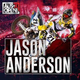 Jason Anderson vai participar do AUS-X Open 2017