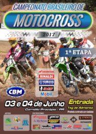 Pilotos encaram Brasileiro de Motocross no Paraná