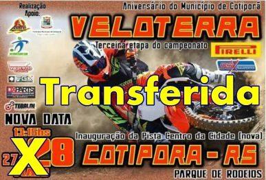 3ª etapa do Regional de Veloterra em Cotiporã é transferida