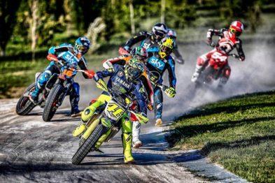 Valentino Rossi é internado após acidente durante treino de Motocross na Itália