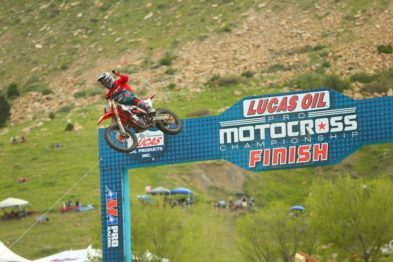 Resultados da 3a etapa do AMA Motocross 2017 em Thunder Valley