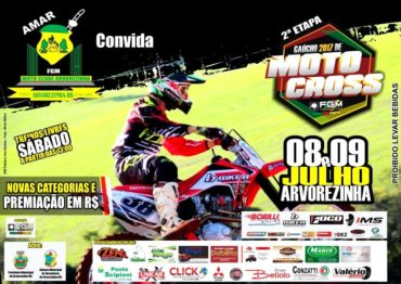Gaúcho de Motocross inédito em Arvorezinha