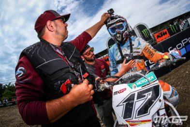 De carona com Cairoli e Paulin na 10a etapa do Mundial de Motocross 2017