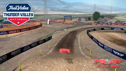 Volta virtual AMA Motocross 2017 em Thunder Valley